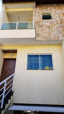 Sobrado Com 3 Dormitórios À Venda, 207 M² Por R$ 679.000 - Vila Camilópolis - Santo André/sp - So1788