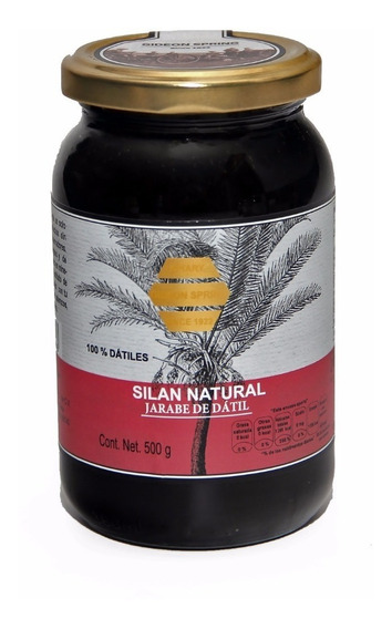 Silan Natural, Jarabe De Datil, 500 Gr