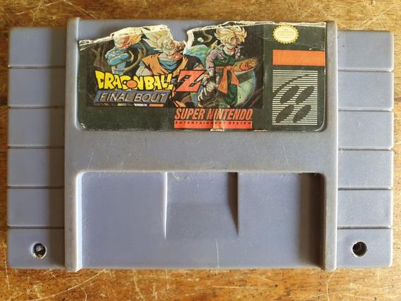 Dragon Ball Z Final Bout Snes Usado