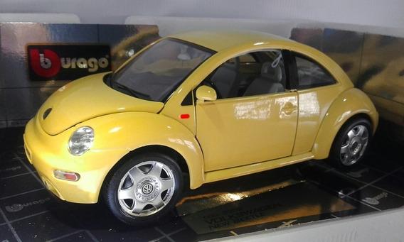 Volkswagen New Bettle 1998 Marca Burago Diamonds Escala 1/18