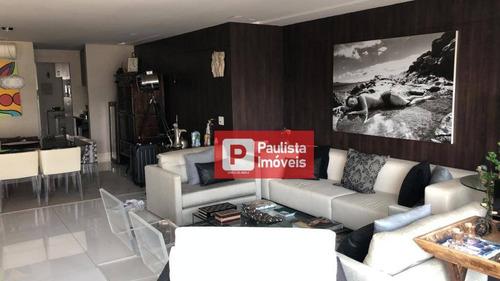 Apartamento À Venda, 165 M² - Vila Nova Conceição - São Paulo/sp - Ap30768