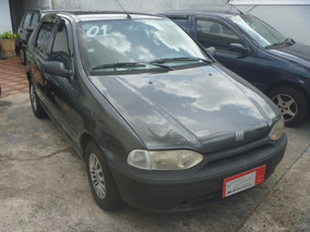 Fiat Palio 1.0 16v Elx 5p Cinza 1999/1999