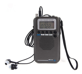 Rádio Receptor Air Band Vhf Digital Aviação Escuta Aérea