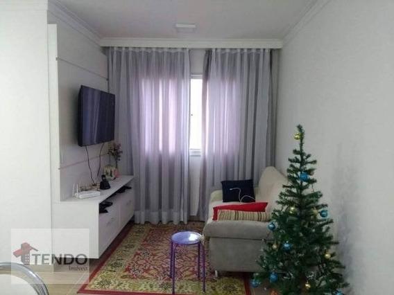 Apartamento 55 M² - 2 Dormitórios - Canhema - Diadema/sp - Ap1168