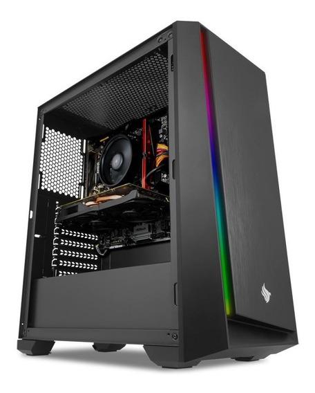 Cpu Completa 7 2700 / Rx 590 8gb / Ram 8gb Ddr4 / Hd / 600 W