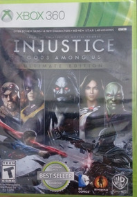 Injustice Gods Among Us Ultimate Edition Xbox 360 Lacrado