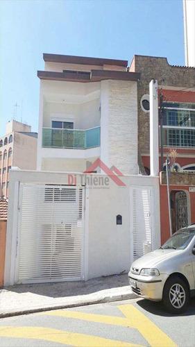 Imagem 1 de 22 de Sobrado Com 3 Dorms, Santa Maria, São Caetano Do Sul - R$ 1.1 Mi, Cod: 376 - V376