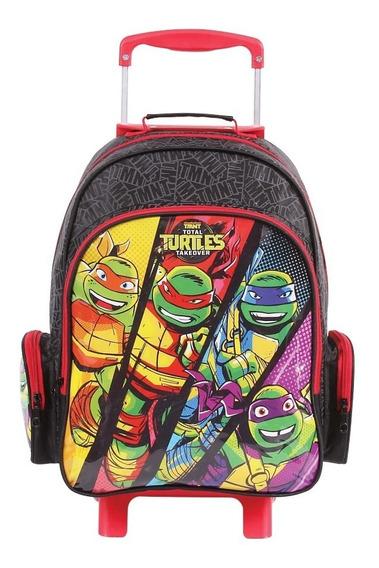 Mochilete Grande Dmw Tartarugas Ninja 49113