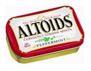 Altoids Peppermint - Pastilhas Importadas De Menta 50g - Usa