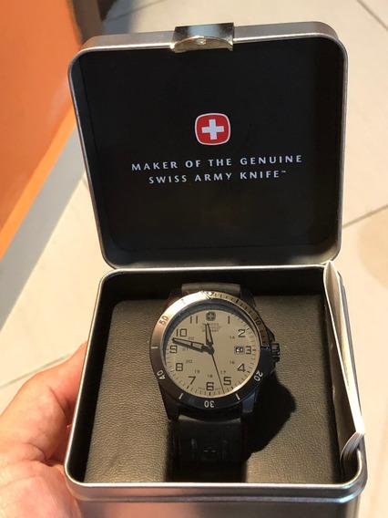 Relógio Swiss Wenger Military 79016 - Original 100m Inox