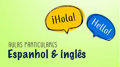 Espanhol E Inglês Aulas Particulares Online