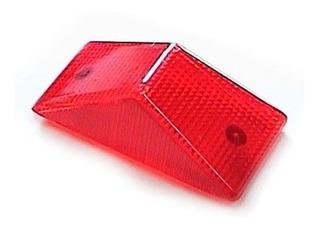 Acrilico Farol Trasero Honda Xr 250 Xr 600 Rojo Universal