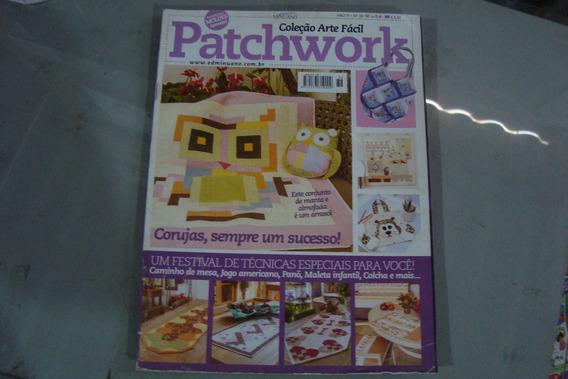 Arte Facil Patchwork 36 / Coruja Sempre Sucesso Tecnicas