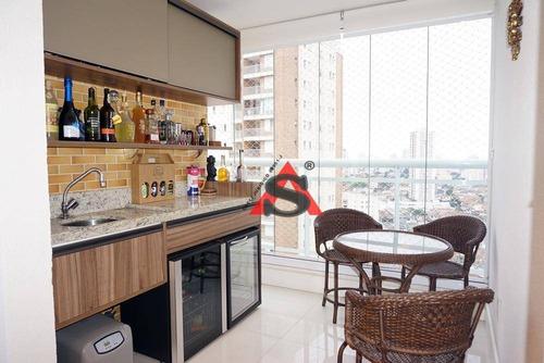 Apartamento À Venda, 85 M² Por R$ 675.000,00 - Alto Do Ipiranga - São Paulo/sp - Ap43179