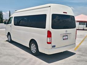 Toyota Hiace 2.7 Bus 15 Pasajeros