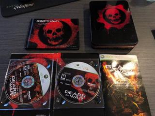 Gears Of War - Limited Collector´s Edition Xbox Buen Estado