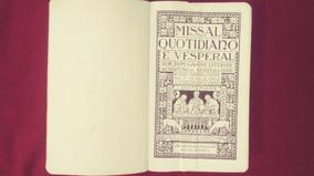 Missal Quotidiano E Vesperal