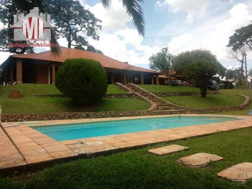 Chácara Com 08 Dormitórios À Venda, 12000 M² Por R$ 1.200.000 - Zona Rural - Pinhalzinho/sp - Ch0371