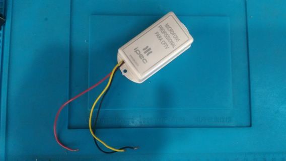 Microfone Profissional Para Cftv Ipec Amplificado