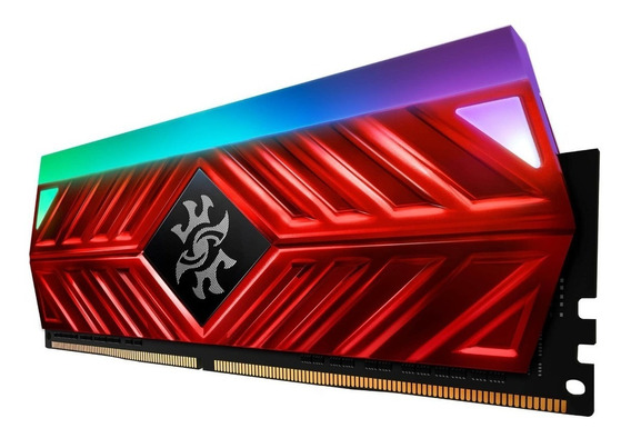 Memoria Ram Ddr4 8gb 3200mhz Adata Pc4-25600 Xpg Gamer Rd80 Red Blister