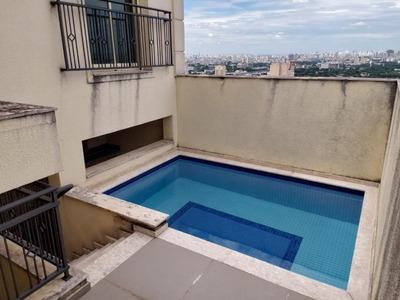 Cobertura Com 4 Dormitórios À Venda, 280 M² Por R$ 2.500.000 - Santana - São Paulo/sp - Co0177