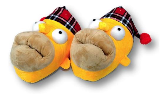 Pantuflas De Homero Los Simpson Envio Gratis