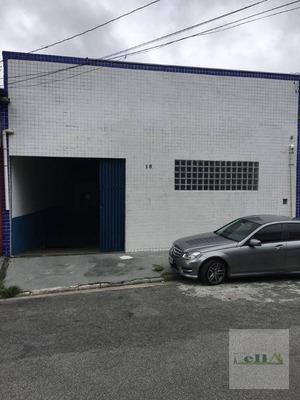 Galpão Comercial Para Locação, Vila Dirce, Carapicuíba. - Ga0097