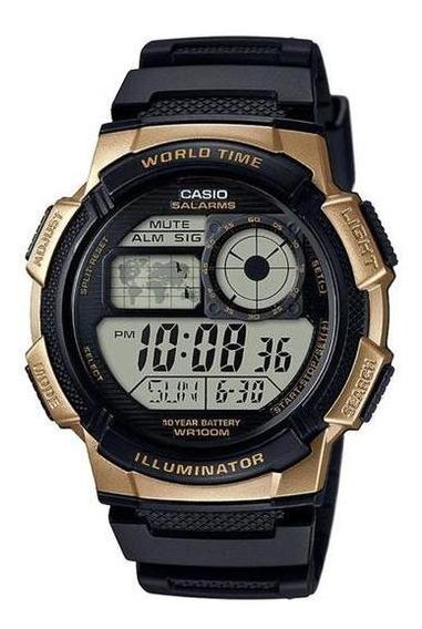 Relogio Casio Digital Ae-1000w-1a3vdf