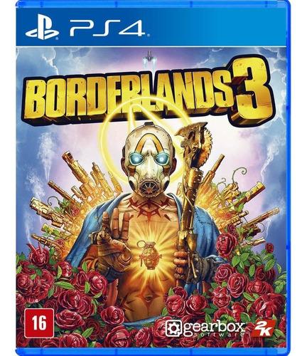 Borderlands 3 Ps4 Mídia Física Lacrado Em Português