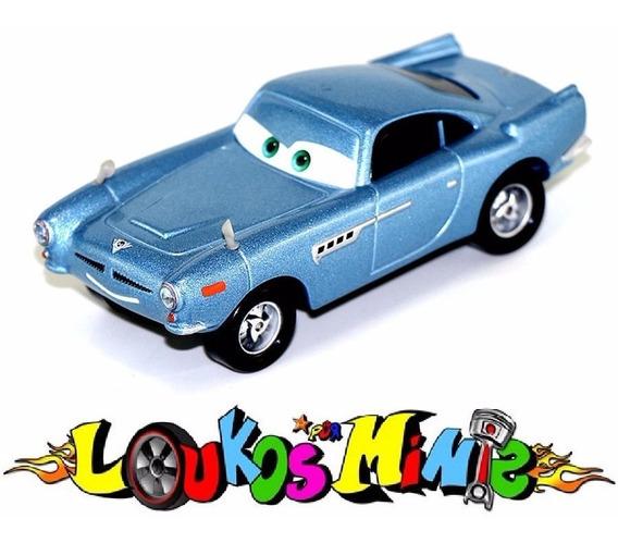 Disney Cars 2 Finn Mcmissile Loose Sem Embalagem Aprox. 8cm.