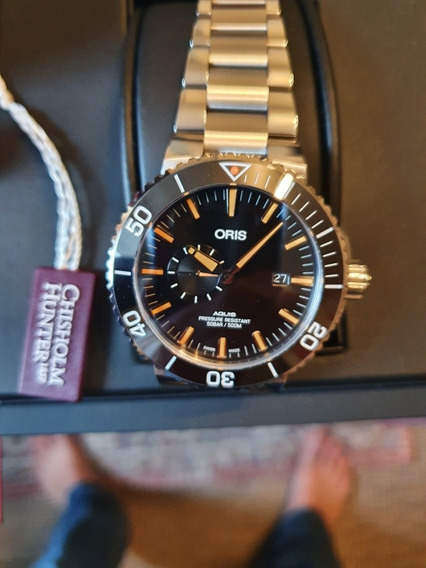 Relógio Oris Aquis Small Second Diver 46mm