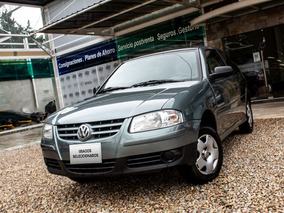 Volkswagen Gol Power Plus 3p Nafta 2010 Gris