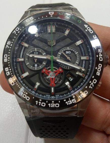 Reloj Tag Heuer Carrera Mod. Heuer 02 Ed. México Car. Negra