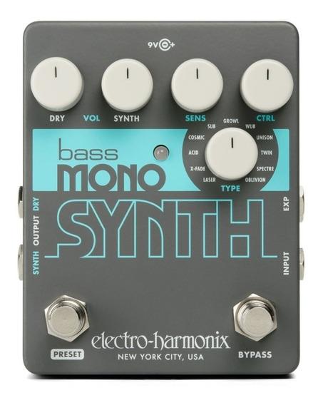 Pedal Electro Harmonix Bass Mono Synth Nyc Usa C/ Nf-e