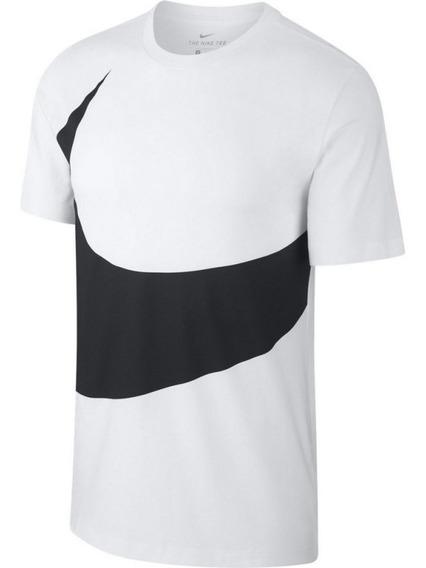 Playera Nike Tee Hbr Swoosh 1 Logo Algodon