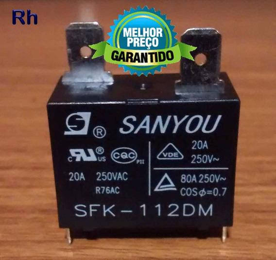 Relé Sanyou Sfk-112dm 20a Original P/ Placa Ar Split