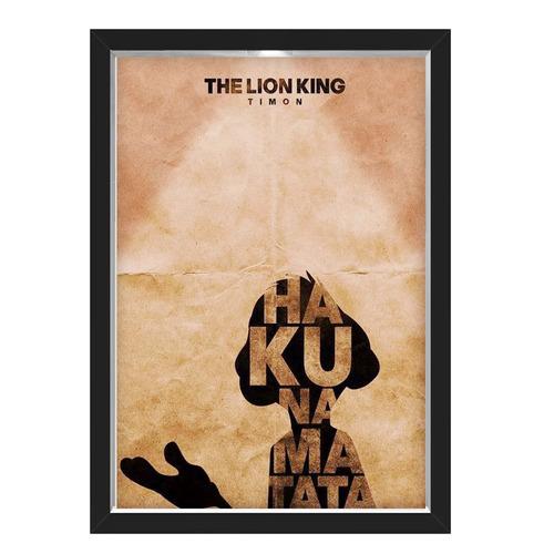 Quadro Caixa Lion King 01