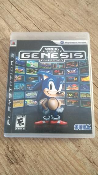 Jogo Sonic Ultimate Genesis Collection - Ps3 - Usado