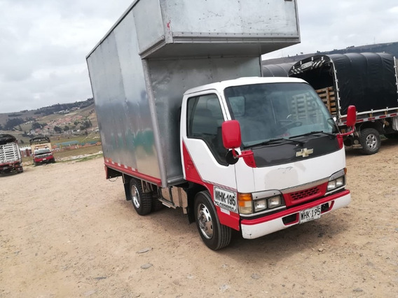 Chevrolet Nkr Motor 2.8 Furgon Blaco/rojo