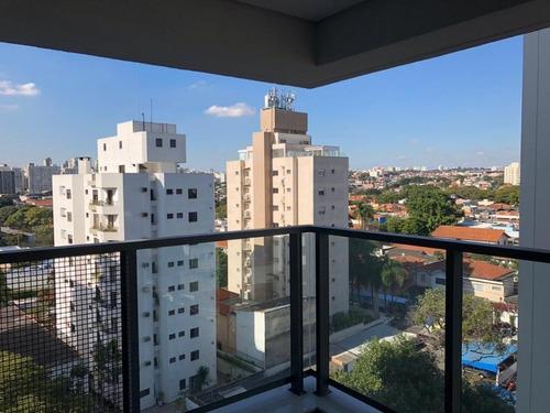 Apartamento 62m² Com 2 Dorms(1 Suíte) E 1 Vaga Na Rua Morais De Barros, Campo Belo. - 14131