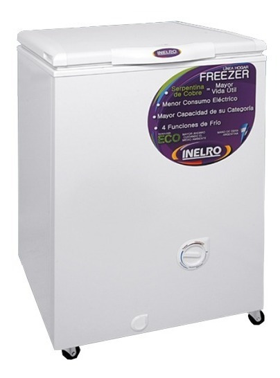 Freezers 135lts Canasto Gas Ecologico Clase A Inelro Fih-130