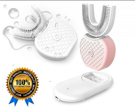 Escova Elétrica 360 Automático Limpeza Dente Oral -v White