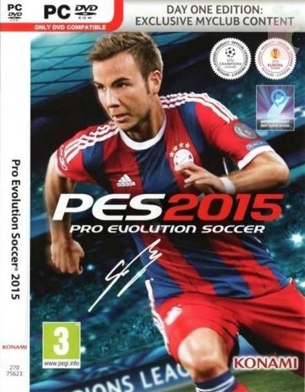 Pes-pro Evolution Soccer 2015 Pc Fret Grátis Em Português!