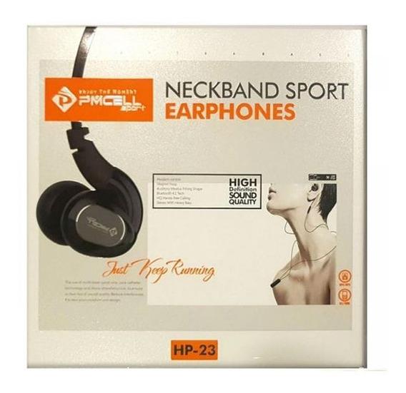 Fone De Ouvido Sem Fio Bluetooth Esportivo Com Microfone