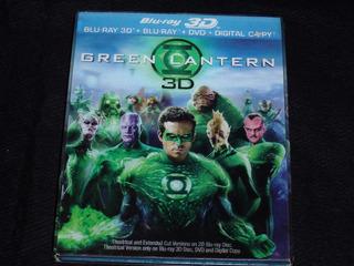 Blu Ray Linterna Verde ( Cover Lenticular / 3d + 2d)