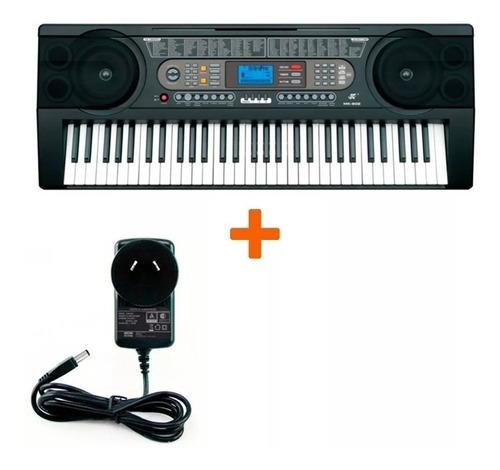 Imagen 1 de 8 de Organo Teclado Musical Mk902 61 Teclas Sensitivo + Midi