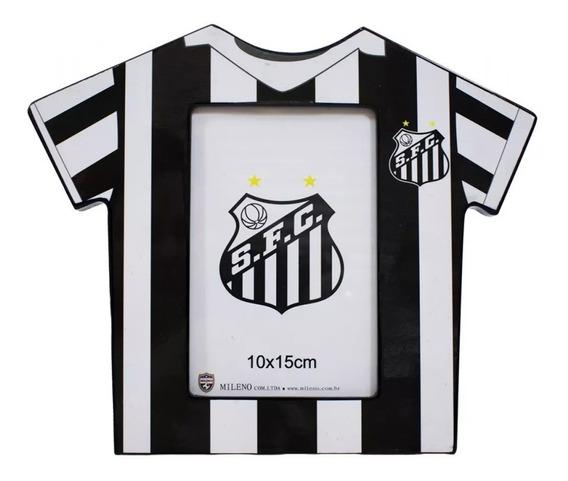Porta Retrato Camisa Futebol Santos - Mileno