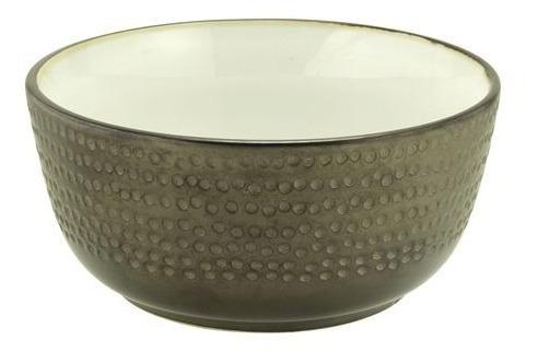 Bowl Ceramica Tazon Peltre 15x7 - Kromacolor