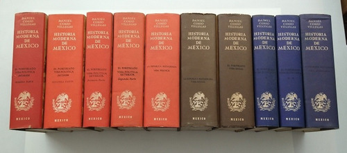 Historia Moderna De México (10 Tomos)