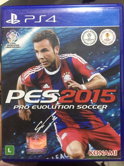 Ps4- Jogo Pro Evolution Soccer 2015 - Pes2015